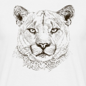 cougar T-Shirts - Men's T-Shirt