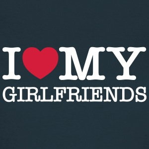 I Love My Girlfriends T-Shirts - Frauen T-Shirt