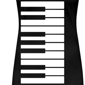 Piano T-Shirts - Frauen Premium T-Shirt
