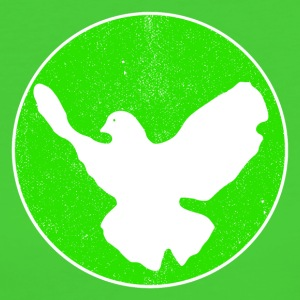 Dove of Peace - green T-Shirts - Frauen Bio-T-Shirt