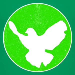 Dove of Peace - green T-Shirts - Kinder Premium T-Shirt