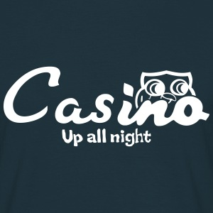 Casino up all night - Men's T-Shirt