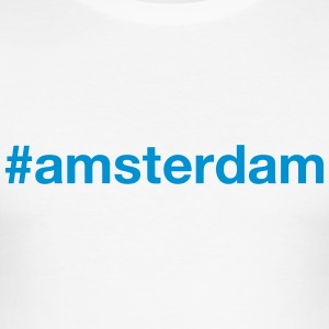 AMSTERDAM - Männer Slim Fit T-Shirt