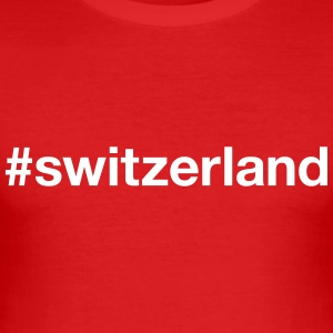 SWITZERLAND - Men's Slim Fit T-Shirt