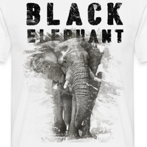 T-Shirt Black Elephant - Männer T-Shirt