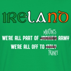 Ireland Supporters Euro 2016 T-shirt - Men's T-Shirt