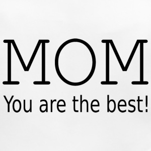 Mom you are the best! Vauvan ruokalappu - Vauvan ruokalappu