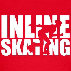 Inline skating T-Shirts - Frauen T-Shirt