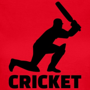Cricket T-Shirts - Frauen T-Shirt