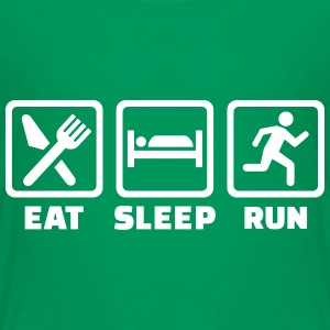 Eat sleep run T-Shirts - Kinder Premium T-Shirt