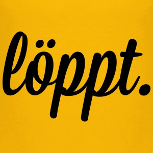 löppt T-Shirts - Teenager Premium T-Shirt