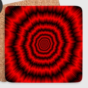 The Menacing Explosion - Coasters (set of 4)