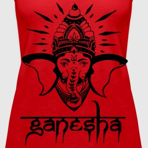 Ganesha Tops - Women's Premium Tank Top