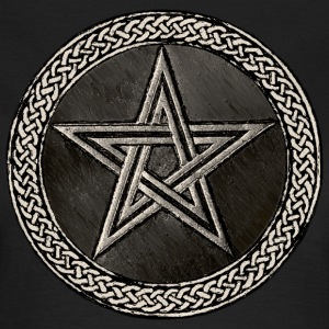 Pentacle Celtic Circle - silber Version - Frauen T-Shirt