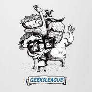 Motif ~ Chope Geeksleague Droitier