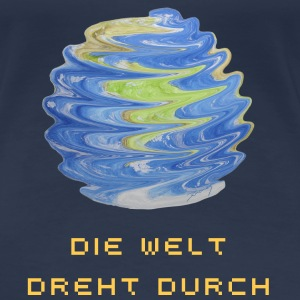 Verdrehte Erde / Twisted Earth T-Shirts - Frauen Premium T-Shirt