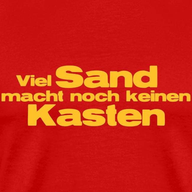 Viel Sand...