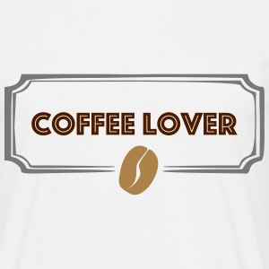 Coffee Lover T-Shirts - Männer T-Shirt