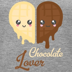 Chocolate Heart - Frauen Premium Tank Top