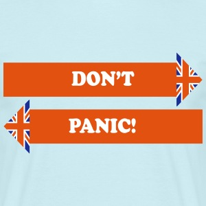 Don't Panic! - Men's T-Shirt