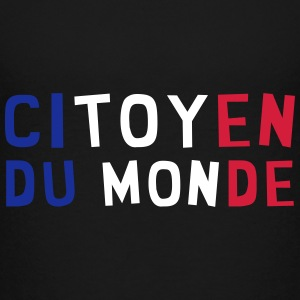 Citoyen du monde / People / Peace / Paix / Love Shirts - Teenage Premium T-Shirt