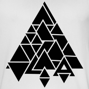 abstract graphic triangle Sports wear - Men's Basketball Jersey