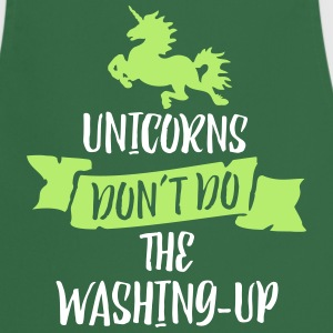 Unicorns Don't Do The Washing Up 2C Schürzen - Kochschürze