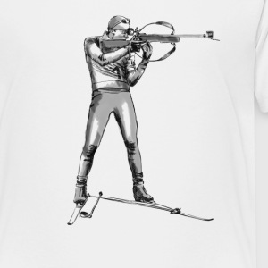 biathlon T-shirts - Teenager premium T-shirt