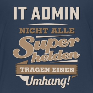 Superhelden in Sepia - IT Admin - RAHMENLOS Beruf Job Arbeit lustig T-Shirts - Teenager Premium T-Shirt