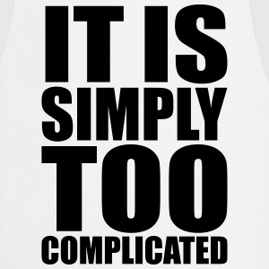 Simply Complicated  Aprons - Cooking Apron