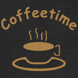 coffeetime T-Shirts - Männer Slim Fit T-Shirt