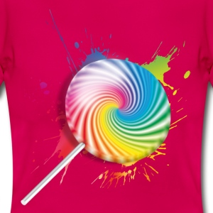 Lollipop T-Shirts - Frauen T-Shirt