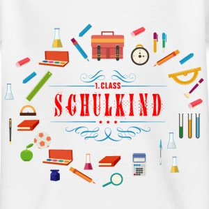 schulkind_02201601 T-Shirts - Kinder T-Shirt