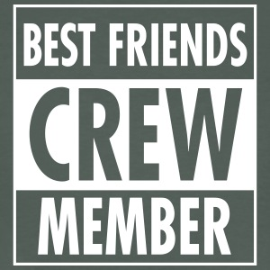 Best Friends Crew Member T-shirts - Ekologisk T-shirt herr