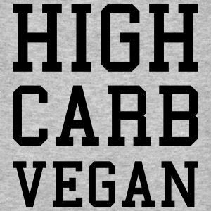 High Carb Vegan - Männer Bio-T-Shirt