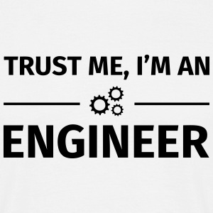 Trust me I'm an Engineer T-shirts - Herre-T-shirt