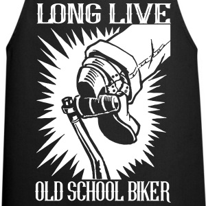 Long Live Old School Biker - Delantal de cocina