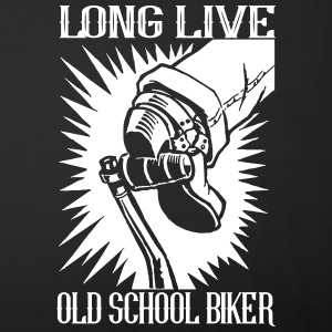 long Live Old School Biker - Funda de cojín, 44 x 44 cm