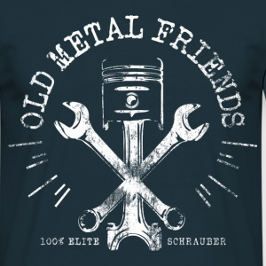 Old Metal Friends - Elite-Schrauber T-Shirts - Männer T-Shirt