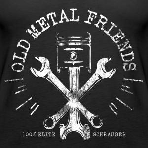Old Metal Friends - Elite-Schrauber Tops - Frauen Premium Tank Top
