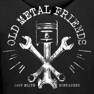 Old Metal Friends - Elite-Schrauber Pullover & Hoodies - Männer Premium Hoodie