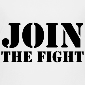 Join the fight / People / Peace / Revolution Shirts - Teenage Premium T-Shirt