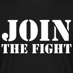 Join the fight / People / Peace / Revolution T-Shirts