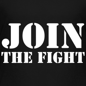 Join the fight / People / Peace / Revolution Shirts - Kids' Premium T-Shirt