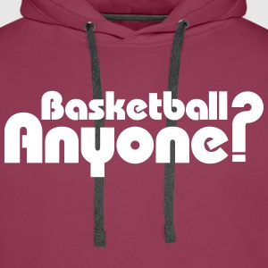 Basketball Anyone ? Sweat-shirts - Sweat-shirt à capuche Premium pour hommes