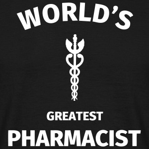 World's Greatest Pharmacist T-shirts - Herre-T-shirt