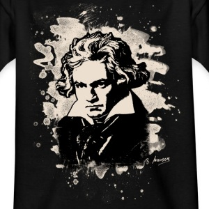 Ludwig Van Beethoven Tribute (white) - Kinder T-Shirt