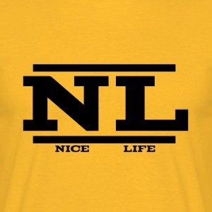 NL - Yellow - T-shirt Homme