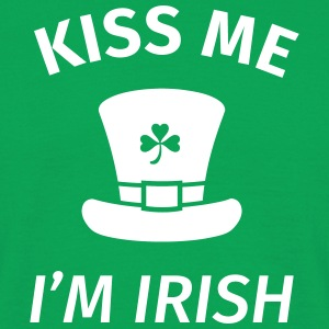 Kiss Me I'm Irish T-Shirts - Männer T-Shirt