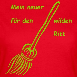 besen T-Shirts - Frauen T-Shirt